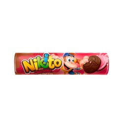 Biscoito Recheado Nikito 135gr Chocolate