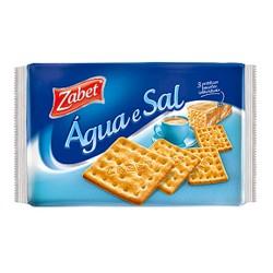 Biscoito Zabet 400gr Agua e Sal