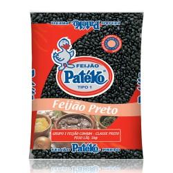 Feijao Pateko Preto  1kg