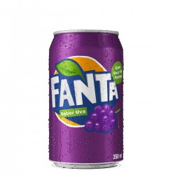Refrigerante Fanta Lata 350ml Uva
