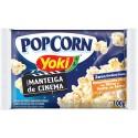 Pipoca Microondas Yoki Popcorn 100Gr Manteiga Cinema