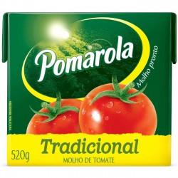 Molho Pomarola 520gr Tp Tradicional