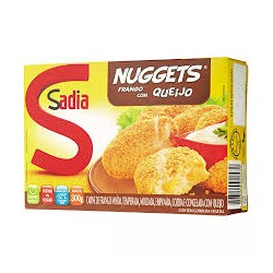 Empanado Sadia Nuggets 300gr Queijo