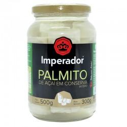Palmito Acai Imperador Inteiro Vidro 300