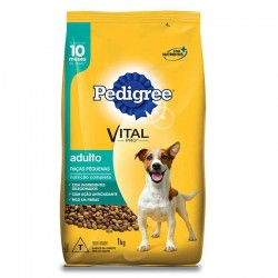 Racao Pedigree 1kg Adulto Raca Pequenas