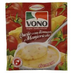 Sopa Vono 16gr Queijo Tomate Manjericao