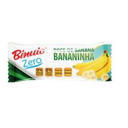Doce Bananinha Binuto 25gr Zero