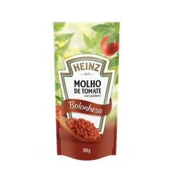 Molho Tomate Heinz Sache 340gr Bolonhesa