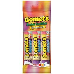 Bala de Goma Gomets Tubo Dori 96gr Fts S