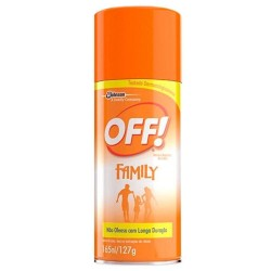 Repelente Off Family Aerosol 165ml