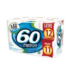 Papel Higienico Mili 60mts Lv12 Pg11un B