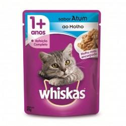 Alimento para Gatos Whiskas 85gr Atum