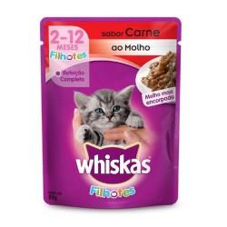 Alimento para Gatos Whiskas 85gr Filhote