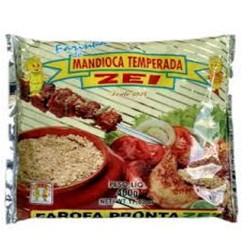 Farinha de Mandioca Zei  400gr Temperada