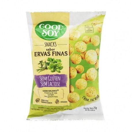 Snacks Goodsoy Soja 25gr Ervas Finas