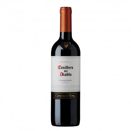 Vinho Casilero Del Diablo 750 Ml Carmene