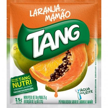 Refresco em Po Tang 25gr Laranja/Mamao