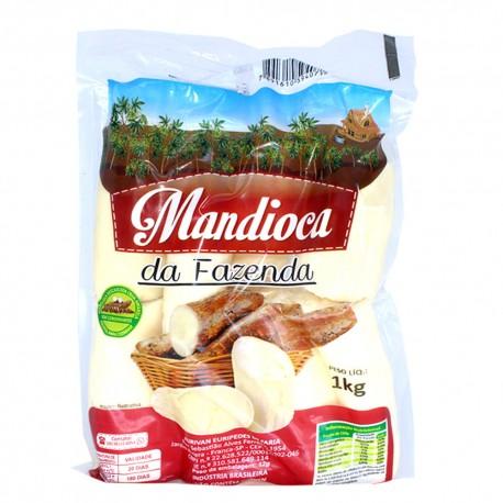 Mandioca Da Fazenda 1kg Crua