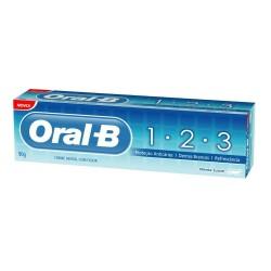 Creme Dent 123 Oral-B 70gr Menta Suave