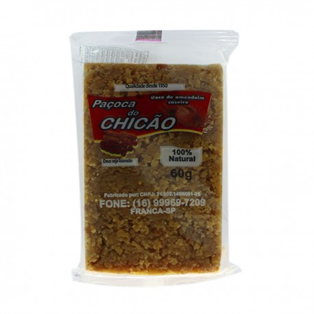 Doce Pacoca do Chicao 60gr