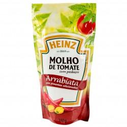 Molho Tomate Heinz Sache 340gr Arrabiata