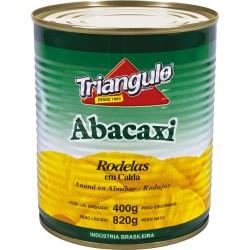 Abacaxi em Calda Triangulo 400gr Rodelas