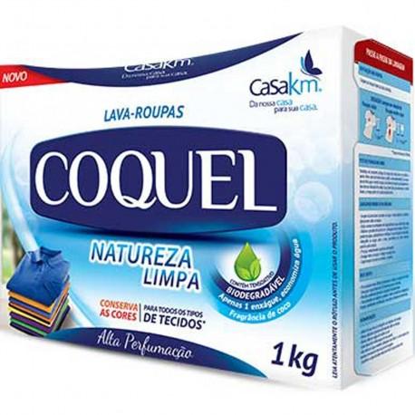 Lava Roupas Po Coquel Nat Coco 1 Kg