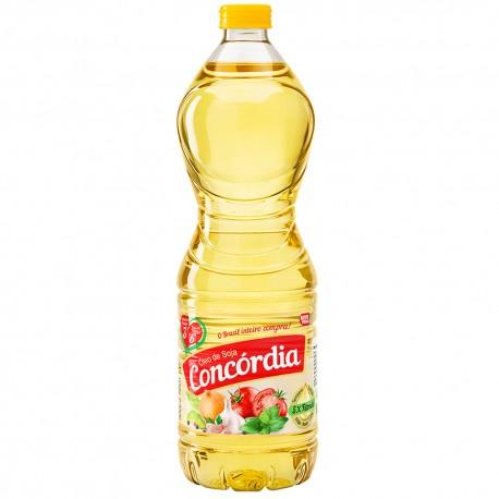oleo De Soja Concordia Pet 900ml