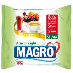 Adocante em Po Magro com Stevia 500gr Li