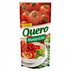 Molho Tomate Quero Sache 340gr Manjerica