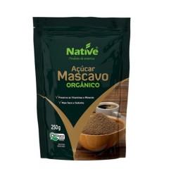 Acucar Mascavo Organico Native 250gr