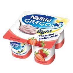 Iogurte Grego Nestle Light 360gr Morango