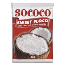 Coco Sweet Floco Sococo 100gr umido e Ad