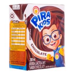 Bebida Lactea Pirakids Tp 200ml Chocolat