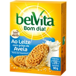 Biscoito Belvita 75gr Leite e Aveia