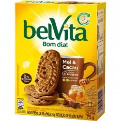Biscoito Belvita 75gr Mel e Cacau