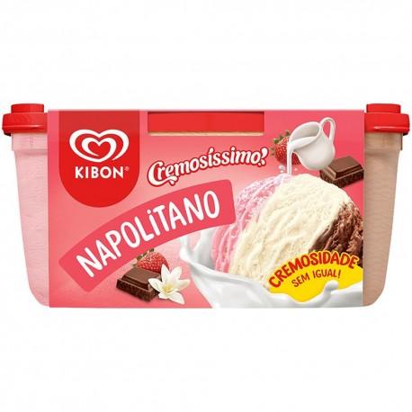 Sorvete Kibon 1,5lt Napolitano