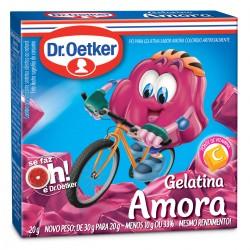 Gelatina em Po Dr.Oetker 20gr Amora