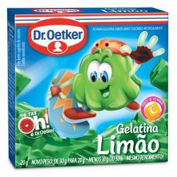 Gelatina em Po Dr.Oetker 20gr  Limao