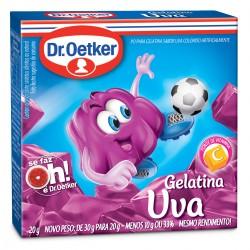 Gelatina em Po Dr.Oetker 20gr  Uva
