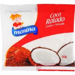 Coco Ralado Menina 50gr umido Adocado