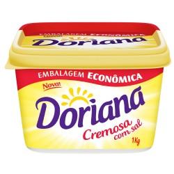 Margarina Doriana Cremosa 1kg com Sal