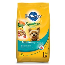 Racao Pedigree Eq Nat 1 Kg Ad Rac Peq