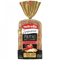 Pao Nutrella Supreme 600gr Frutas, Graos