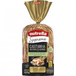 Pao Nutrella Supreme 600gr Castanha do P