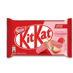Chocolate Nestlé KitKat 41,5Gr Morango
