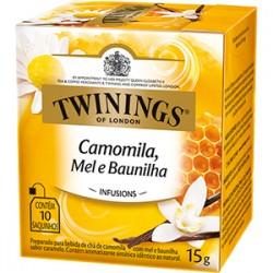 Chá Twinings Camolima Mel e Baunilha 15g
