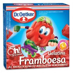 Gelatina em Po Dr.Oetker 20gr Framboesa