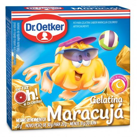 Gelatina em Po Dr.Oetker 20gr MaracujA