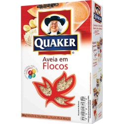 Aveia Quaker 200gr Flocos Regular